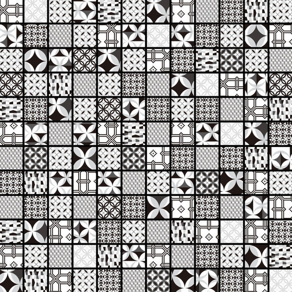 Casablanca Monochrome Self-Adhesive