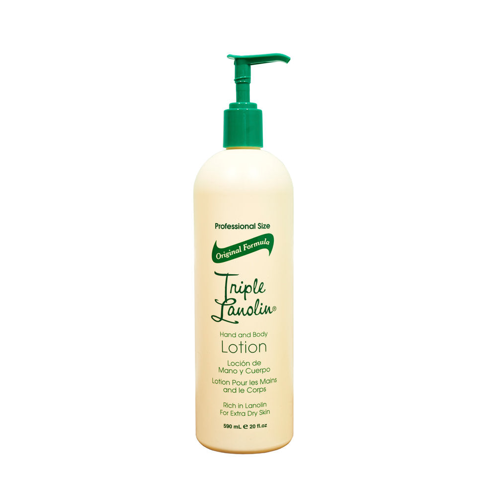 Triple Lanolin Hand and Body Lotion