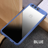 Naked back phone case transparent drop protection cover for HUAWEI