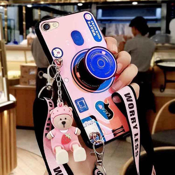 3D Retro Camera Lanyard Phone holder Case for Huawei Mate 20Pro Mate 20 P30 P30Pro P30Lite P20 P20Pro P20Lite (FREE SHIPPING)