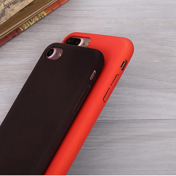 New Handheld Thermal Sensor Case for iPhone Funny Functions of Physical Thermal Discoloration Phone Cases Soft Silicone Case