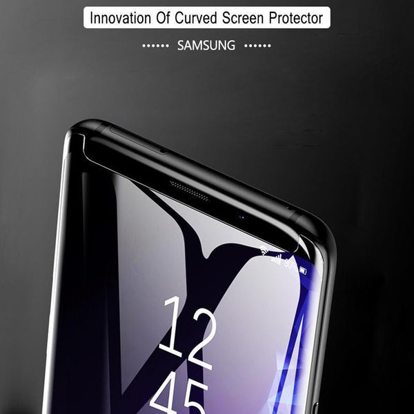 UV Tempered Glass For Samsung S10 5D Full Liquid Glue Screen Protector