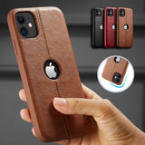For iPhone 11 11 Pro 11 Pro Max Case New SLIM Luxury Leather Back Case Cover For iPhone 11 XR XS MAX 8 7 6 Plus Shockproof Case