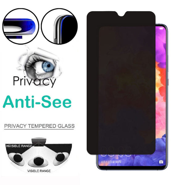 New Arrive Glass Screen Protector 2pc Privacy Anti-See Tempered Prot For Huawei P30Pro/P30/P30Lite 6.47inch 9H hardness Dropshipping