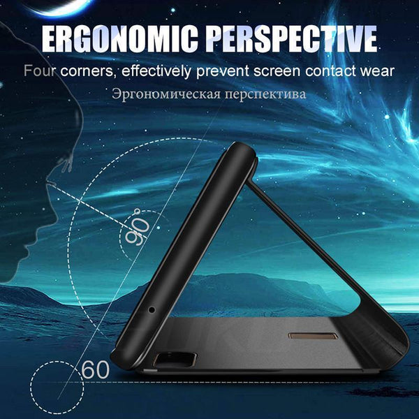 Smart View Case For Huawei P20 P20pro Flip Stand Phone Cover Protective Case