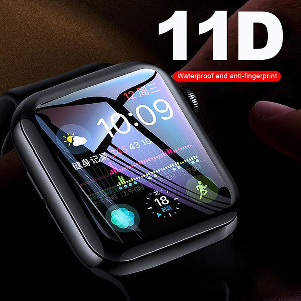 Glass Curved Screen Protector 11D for Iwatch 1 2 3 4 tempered glass film for Apple Watch 38/40/42/44mm