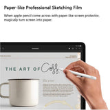 Film Wallpaper Matte Screen Protector For Apple iPad Mini 4 5 9.7 Face ID 12.9 Inches