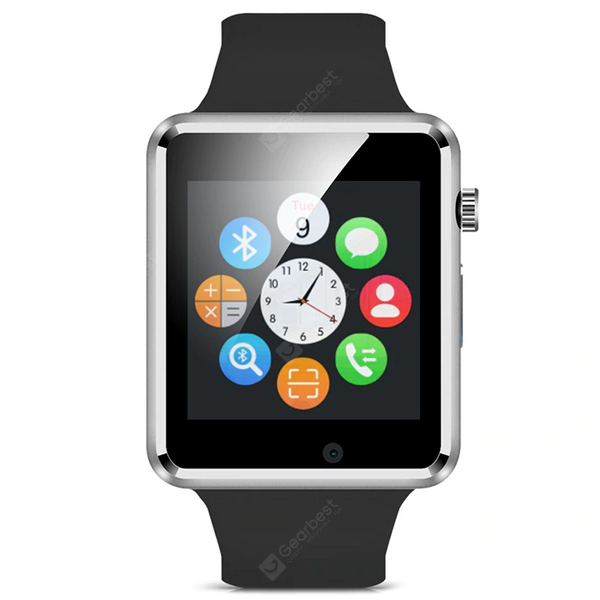 Bluetooth Smart Watch Phone - Black (ios & android universal)