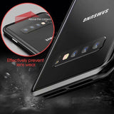 Original Magnetic Adsorption Transparent Tempered Glass Phone Case Samsung S10 S10 Plus S10e