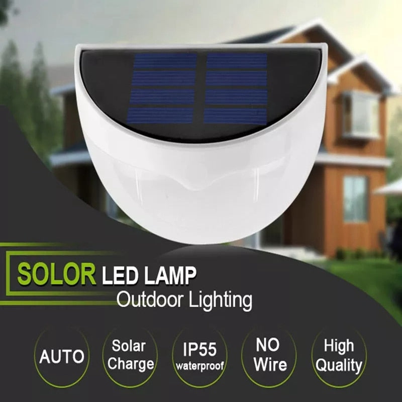 Waterproof LED Solar Lamp