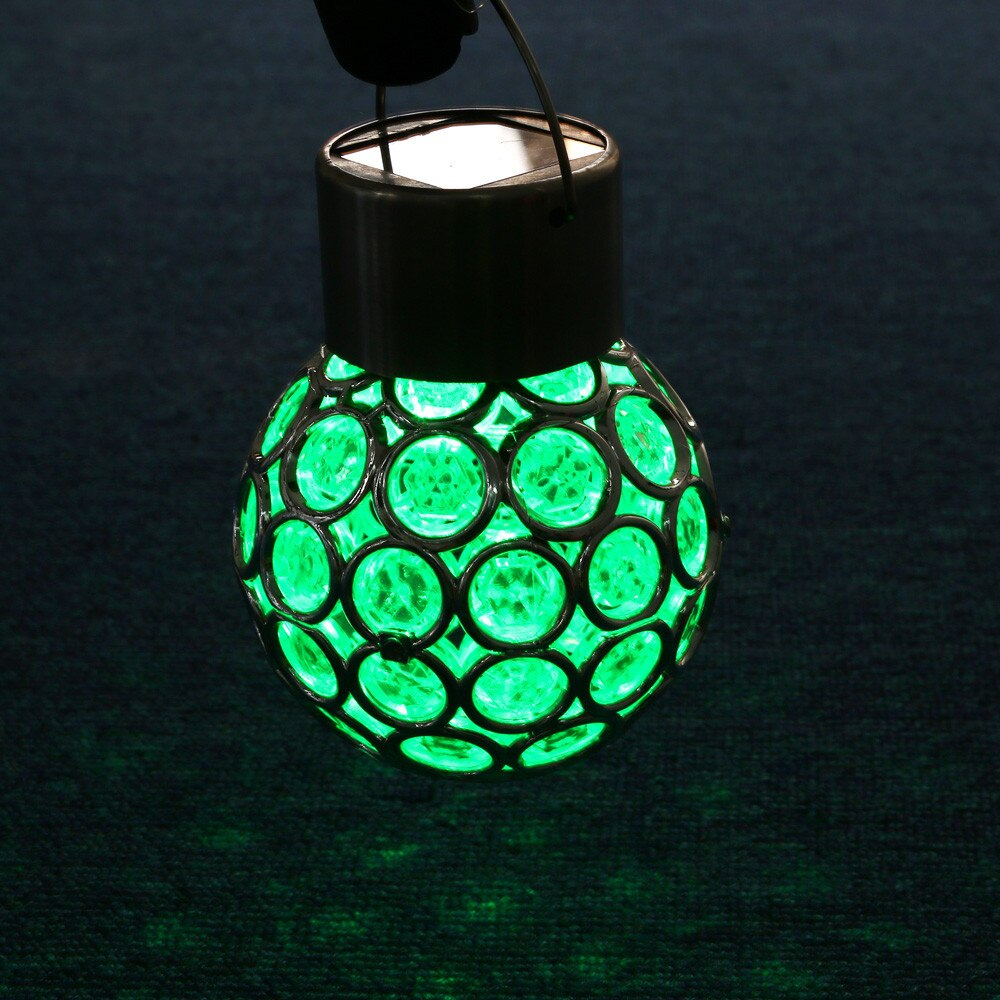 Waterproof Rotatable Solar LED Round Ball Lights