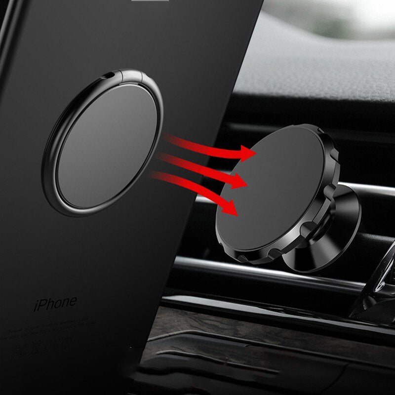 Luxury Metal Mobile Phone Socket Holder