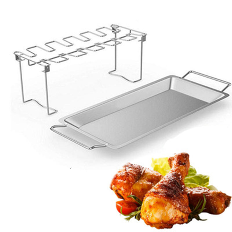 Stainless Steel Chicken Wing Leg Rack