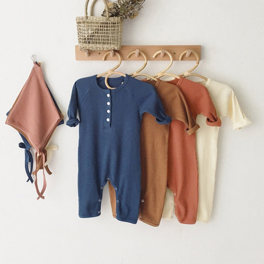 Long Sleeve Jumpsuit Outfit For Kids
