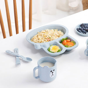 Cartoon Shape Baby Food Dishes