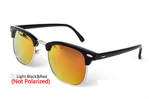 Semi-Rimless Polarized  Sunglasses