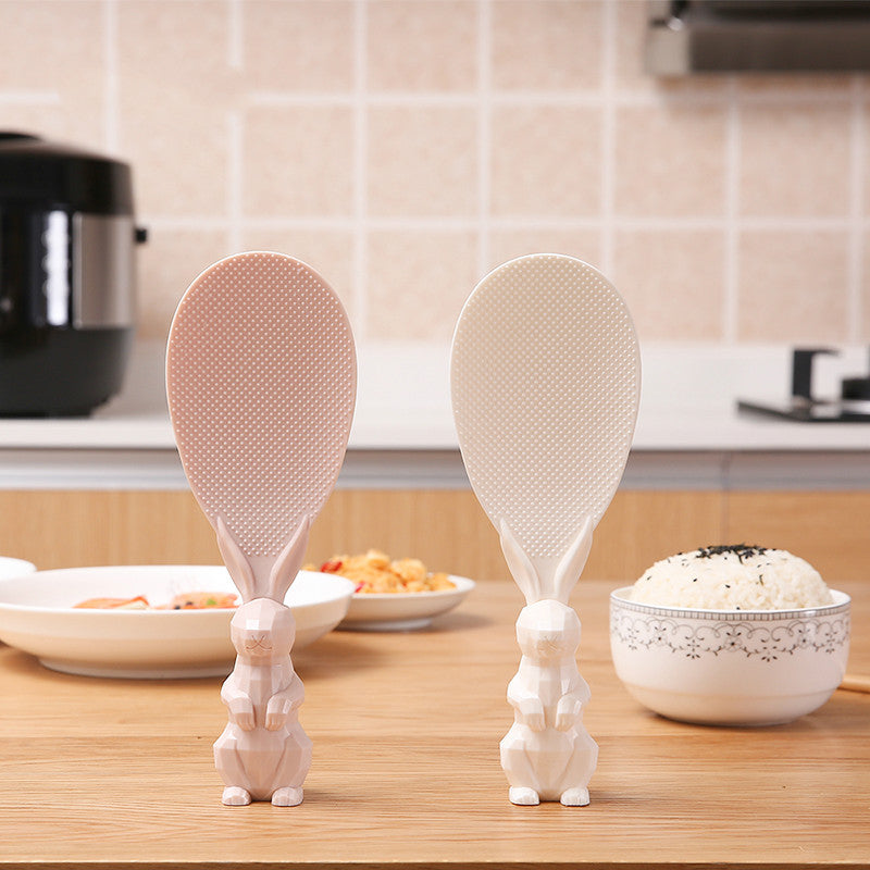Vertical Standing Rice Spoon
