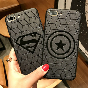 Marvel Avengers Matte Silicone Case For iPhone