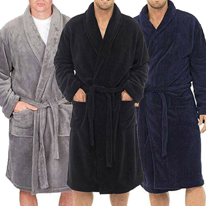 Cotton Terry Shawl Bath Robe