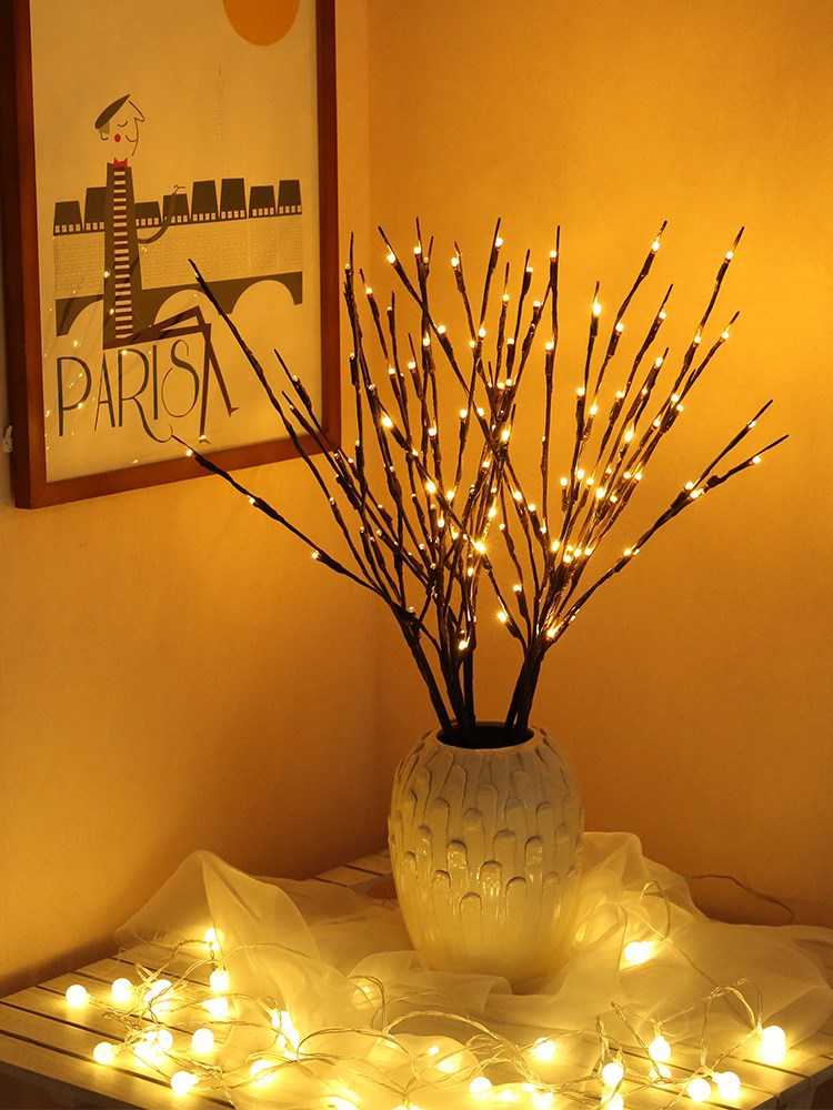 Willow Branch Decorative Lamp