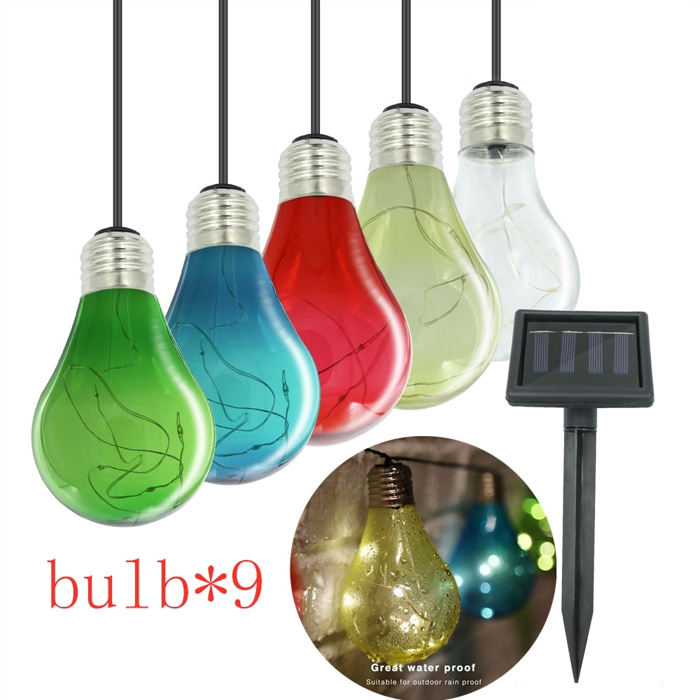 Solar Globe String Decorative Lights