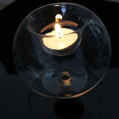 Hollow Glass Candle Holder