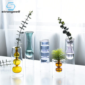 Nordic Glass Hydroponic Transparent Vase