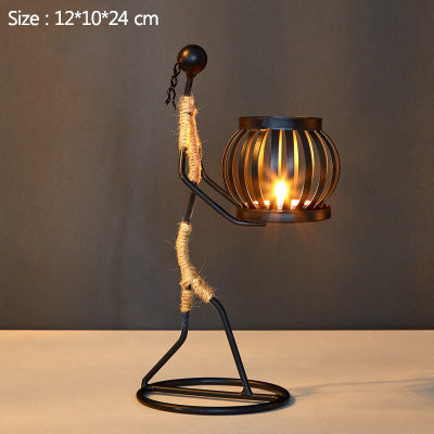 Nordic Metal Candle Holder