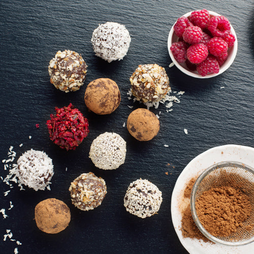 Salted Caramel Raw Balls