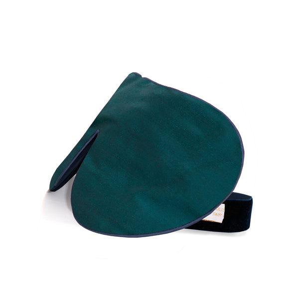 Lavender Eye Mask, Emerald, One Strap