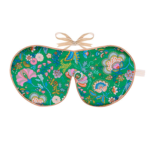 Pure Silk Lavender Eye Mask, Mabell Hall