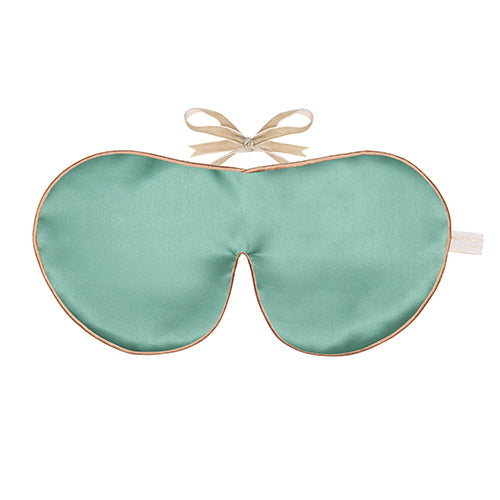 Pure Silk Lavender Eye Mask, Jade