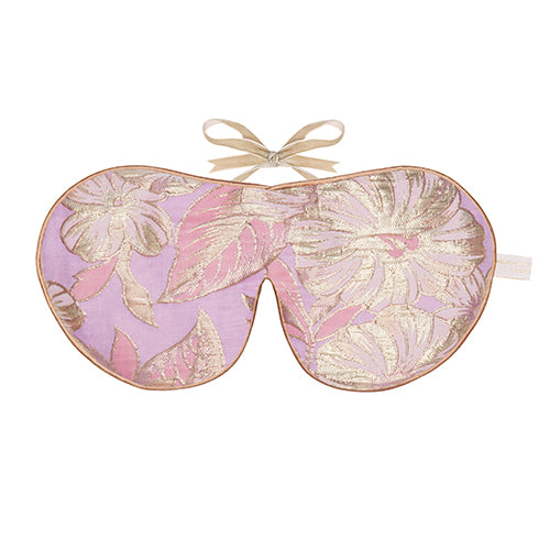 Lavender Eye Mask, Rose Gold