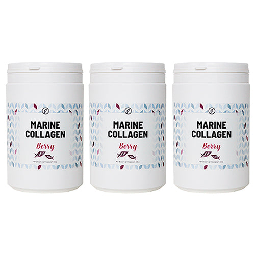 3-pak: Berry Marine Collagen