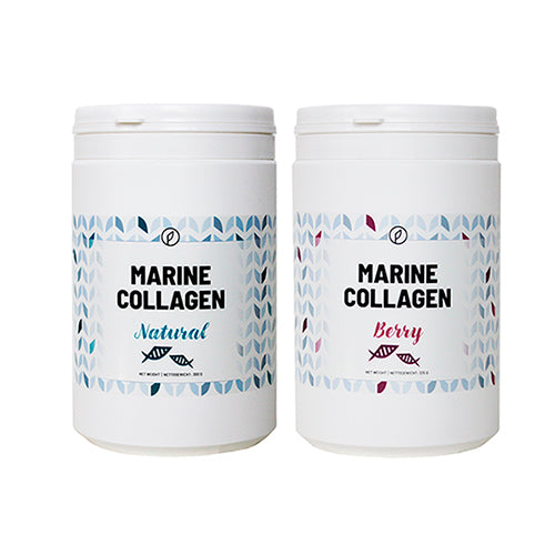 2-pak: Berry + Natural Marine Collagen