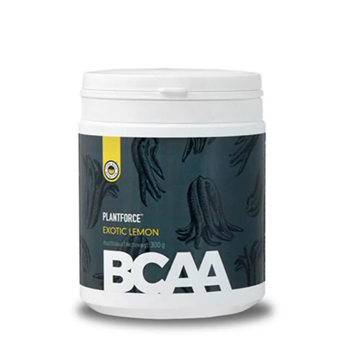 BCAA Exotic Lemon Plantforce 300 gr.