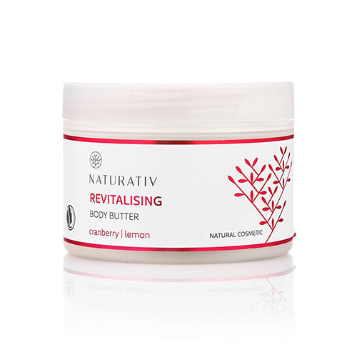 Naturativ body butter, Revitalising, 250 ml.