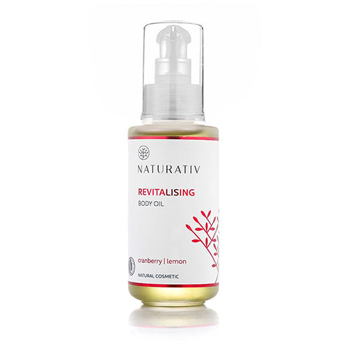 Naturativ Body Oil, Revitalising, Øko, 125 ml.