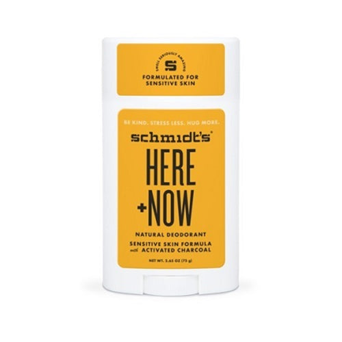 Schmidts Deodorant Sensitive Stick, HERE + NOW by Justin Bieber, 75 gr. UNISEX