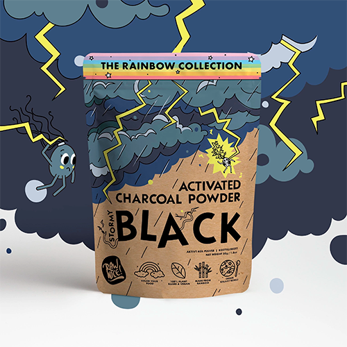 Raw Nice Activated Charcoal, 50 gr.