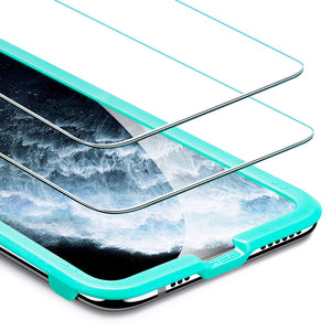 ESR IPHONE 11 PRO MAX/XS MAX-SCREEN SHIELD-CLEAR-2 PACK (RP)
