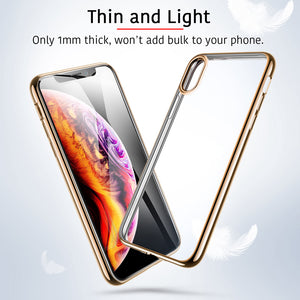 ESR TWINKLER CHAMPAGNE GOLD CASE FOR IPHONE X/XS  (RP)