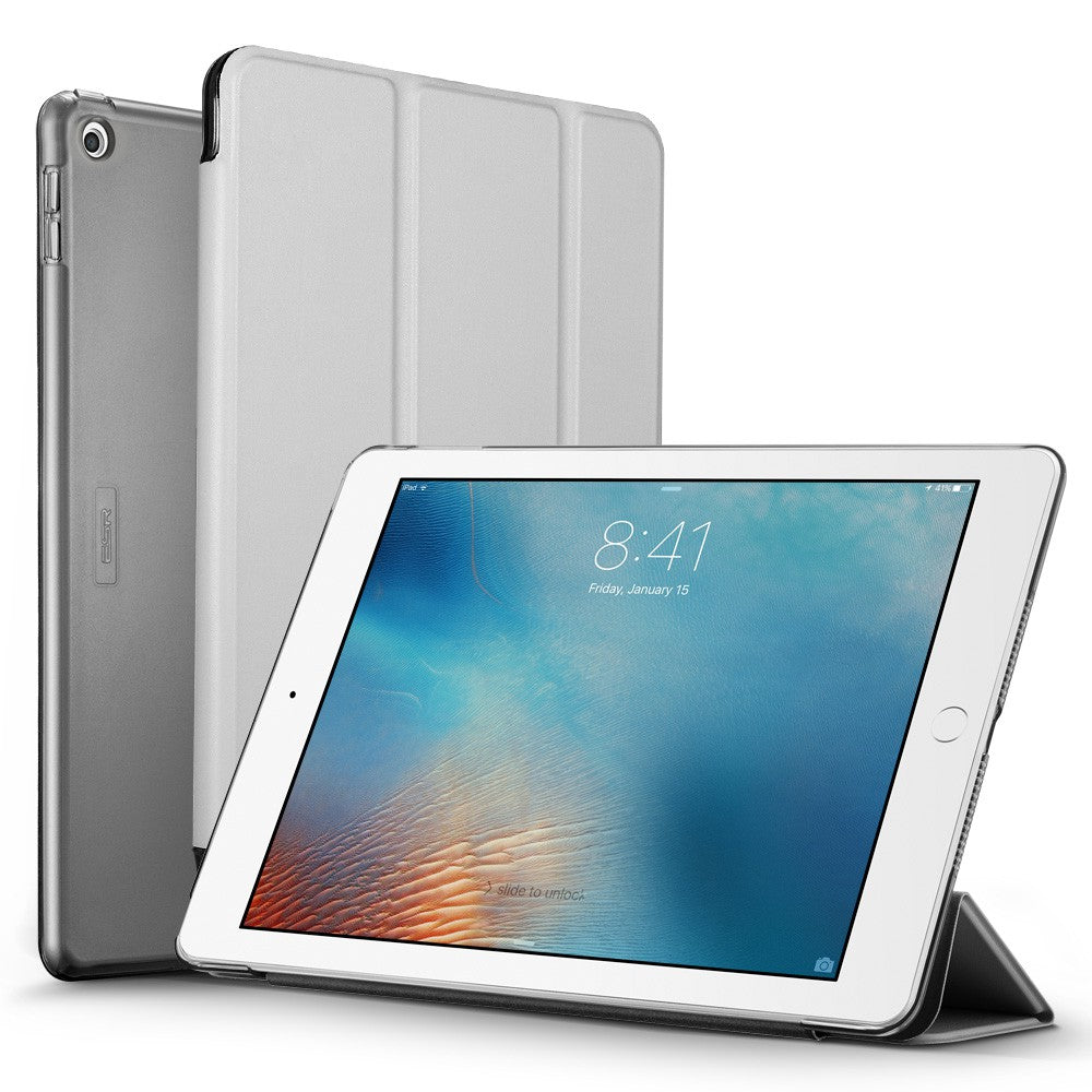 ESR IPAD 9.7 2018/2017-YIPPEE COLOR-SILVER GRAY  (RP)