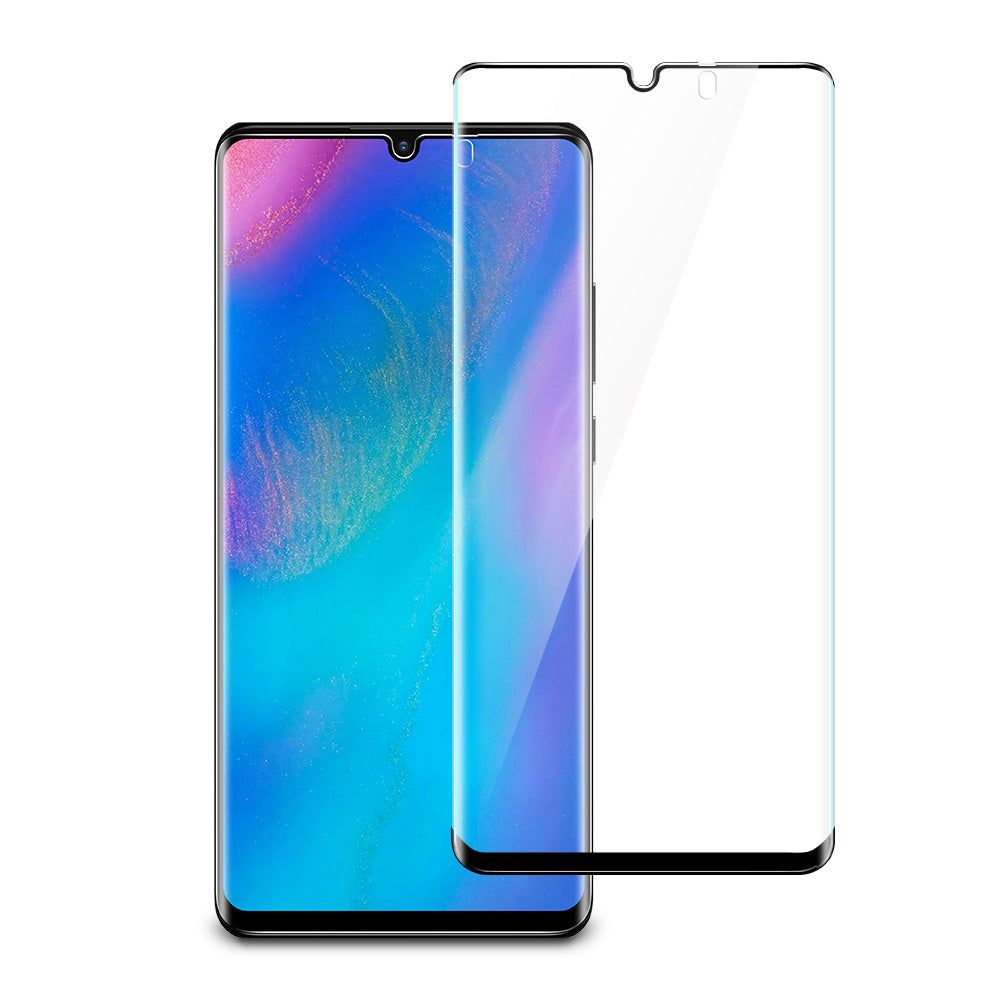 ESR HUAWEI P30 PRO-FULL COVERAGE GLASS FILM-5KG-BLACK 4894240080139 (RP)