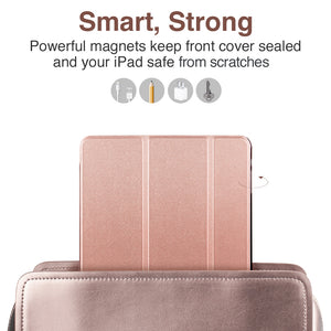 ESR IPAD 9.7 2018 YIPPEE SHELL ROSE GOLD (RP)