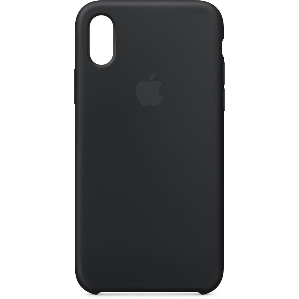 APPLE IPHONE X/XS SILICONE CASE BLACK (RP)