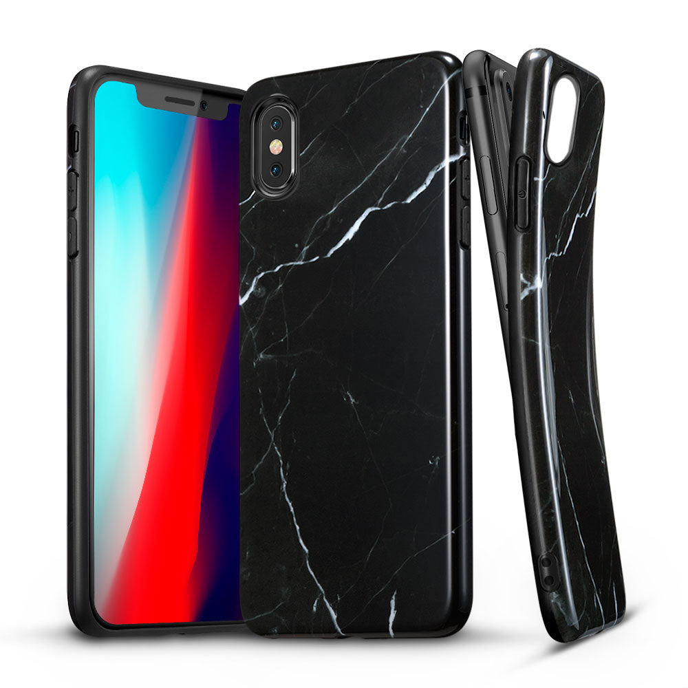 ESR IPHONE XS MAX MARBLE BLACK (RP)