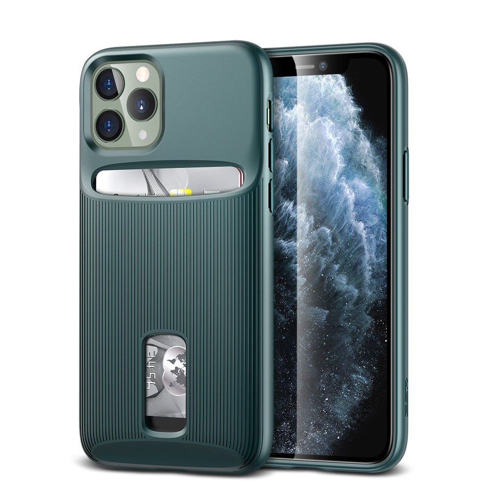 ESR IPHONE 11 PRO MAX - WALLET ARMOUR - PINE GREEN (RP)