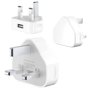 APPLE 5W 3PIN UK USB POWER ADAPTER FOR IPHONE 5 / 6 / 7 - A1399 (BN)