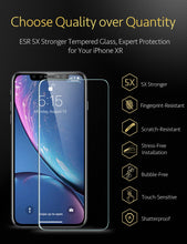 Load image into Gallery viewer, ESR IPHONE XR TEMPERED GLASS FILM 10KG (RP)